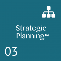 A Proven Planning System that provides: Clear, executable strategies; Meeting rhythms and agendas; Alignment; Accountability; Communication; Results; 1 – 2 Day Workshop.